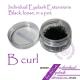 B curl 0.15mm 8mm Eyelash Extensions