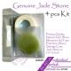 Natural Jade Stone Kit 4 Pcs Glue Adhesive Holder Pallet